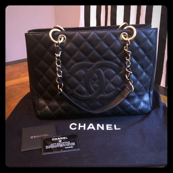 6fa2a2d6d7f7 CHANEL Handbags - SALE 🌸 Authentic Chanel Black Caviar Leather GST